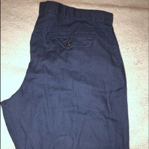 GAP Pants - Blue Gap Trouser Pants